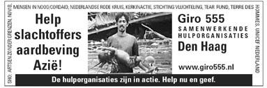 Help slachtoffers aardbeving Azië